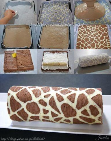 Tutoriel roulé girafe